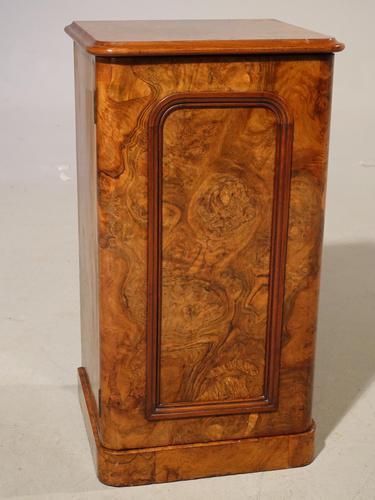 A Beautifully Figured Mid 19th Century Walnut Cupboard (1 of 5)
