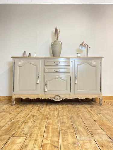 French Antique Style Sideboard / Rococo Vintage Sideboard / French Buffet (1 of 7)