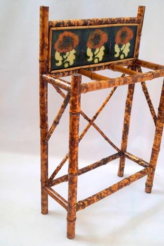 Victorian Bamboo Umbrella Stand (1 of 7)