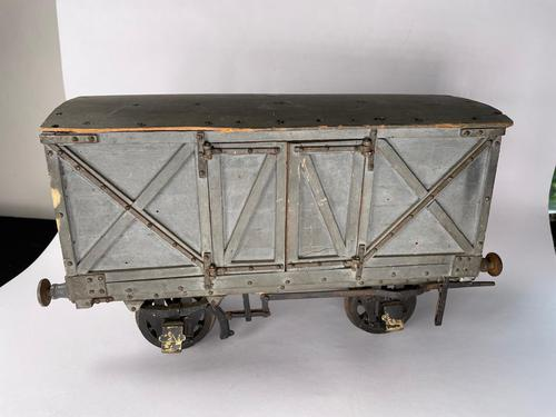 """Early 20th Century Wooden 3"""" Gauge Wagon (1 of 13)"""