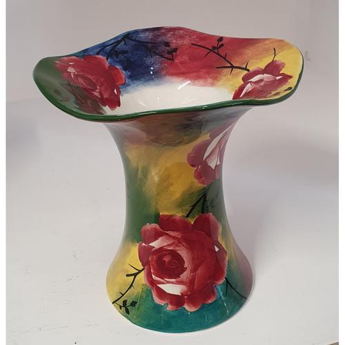 Superb Scottish Jazzy Wemyss Lady Eva Vase (1 of 6)