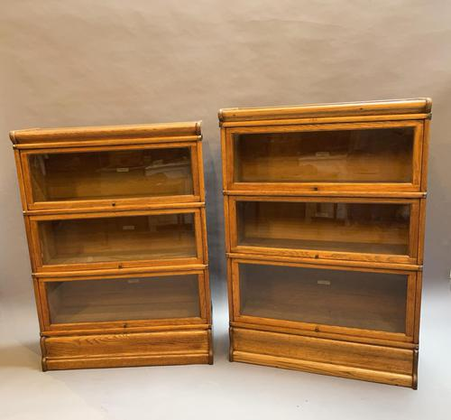 Pair of Globe Wernicke Bookcases (1 of 6)
