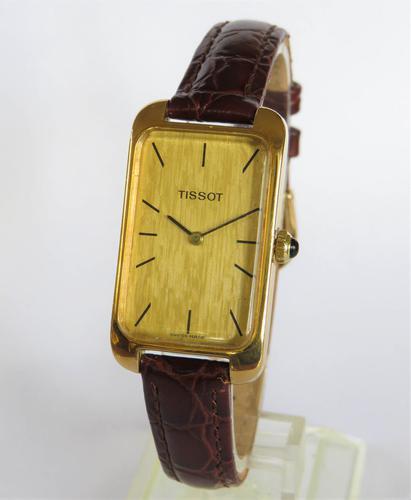 Ladies Tissot wrist watch, 1974 (1 of 5)