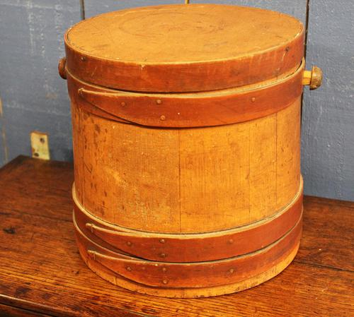 American 19th Century Oyster Barrel (1 of 9)