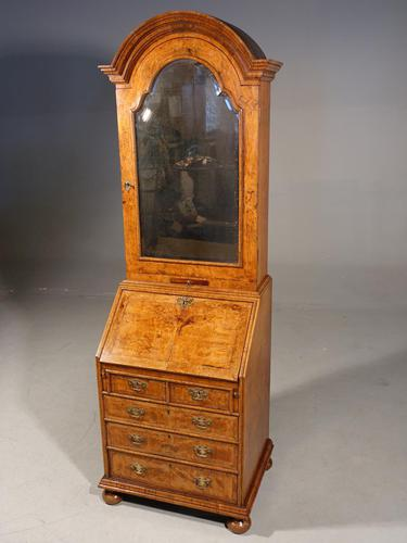 Small Early 20th Century Queen Anne Style Cabinet (1 of 5)