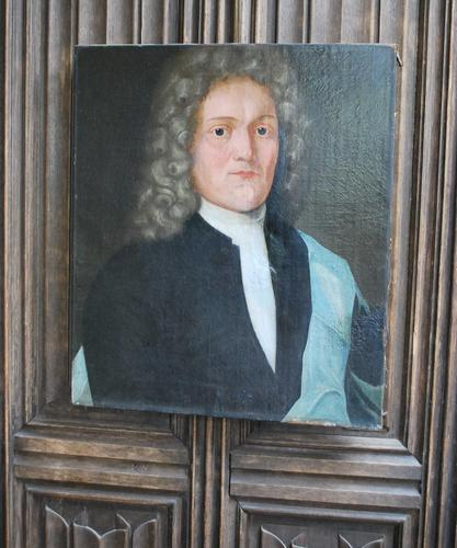 18th Century Portrait of a Gentleman in a Wig (1 of 6)