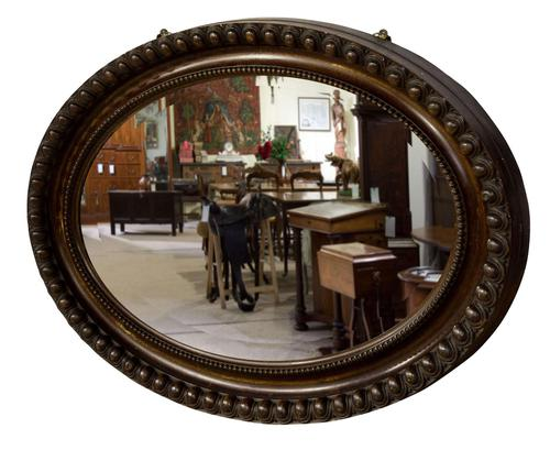 Victorian Oval Mirror c.1890 (1 of 5)