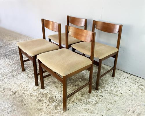 4 x 1960's Mid Century Dining Chairs by White & Newton (1 of 4)