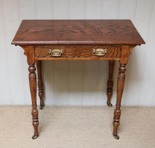 Late 19th Century Ash Side Table (1 of 10)