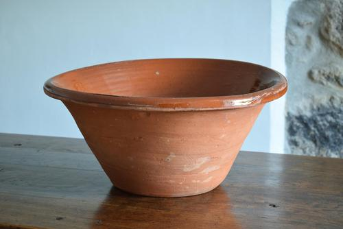 Large Earthenware Pancheon Bowl (1 of 10)