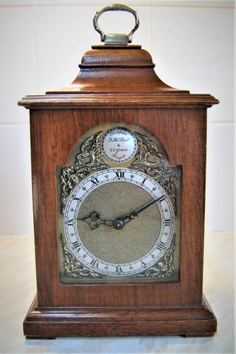 Superb 1949 English Bracket Clock By Rotherham S Of Coventry Ac 315 La319106 Loveantiques Com