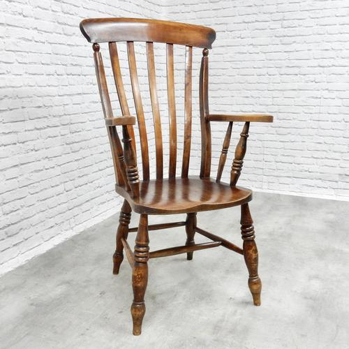 Large 'Grandfather' Windsor Lathback Armchair (1 of 6)