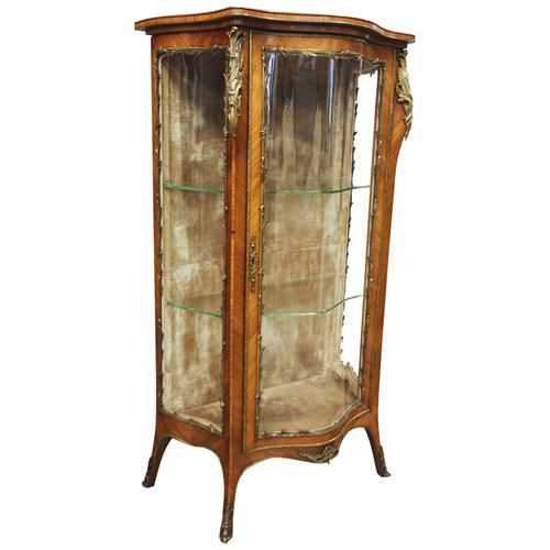 French Rosewood Vitrine by Thomas Justice & Sons (1 of 14)