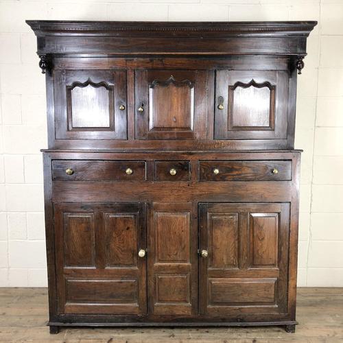 18th Century Welsh Oak Deuddarn Cupboard (1 of 12)