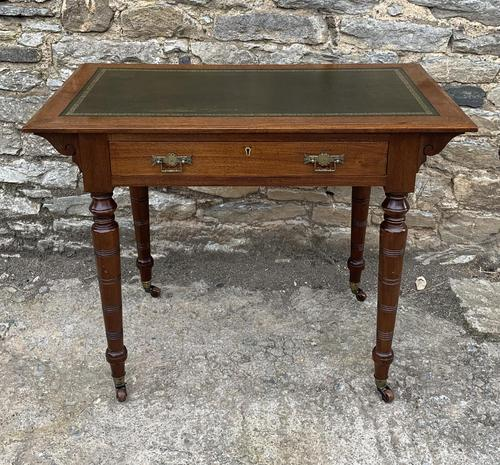 Antique Victorian Walnut Writing Table Desk (1 of 17)
