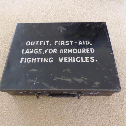 Armoured Fighting Vehicle First Aid Tin (1 of 3)