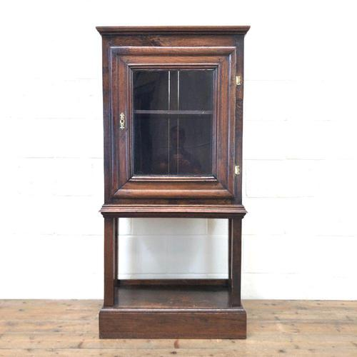 Antique Oak Cupboard on Stand (1 of 13)