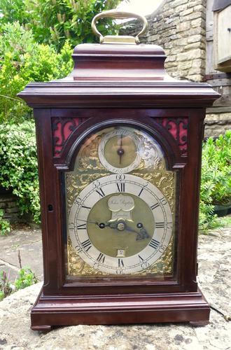 18th Century London 'verge' Bracket Clock (1 of 5)