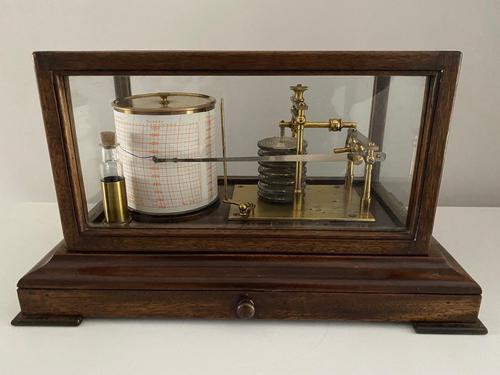 Oak Cased Barograph (1 of 3)