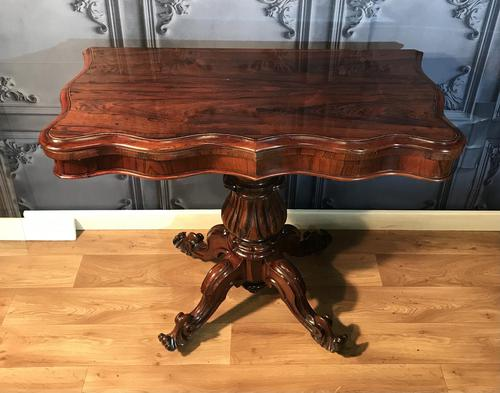 Regency Rosewood Tea Table ref355 (1 of 1)