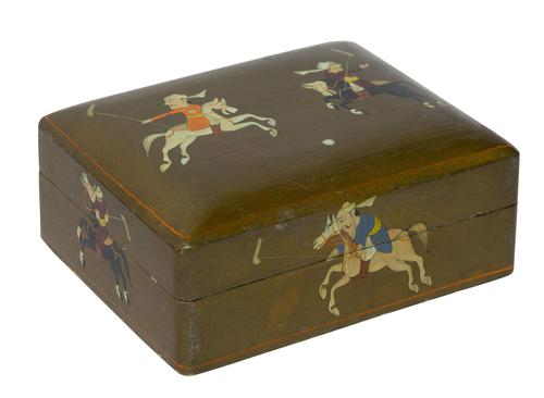 Indian Lacquer Box c1900 (1 of 6)
