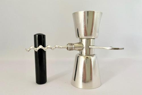 Art Deco Silver Plated Spirit Measure c.1930 (1 of 7)