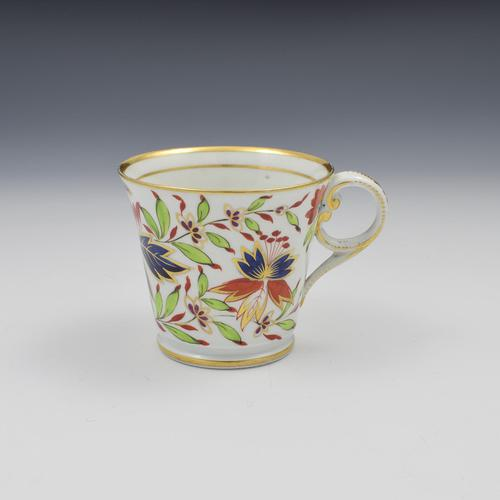 Chamberlain Worcester Porcelain Imari Coffee Cup Pattern 475 (1 of 6)