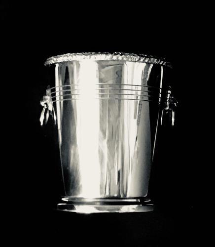 Silver Plated Mid Century Ice Bucket (1 of 3)