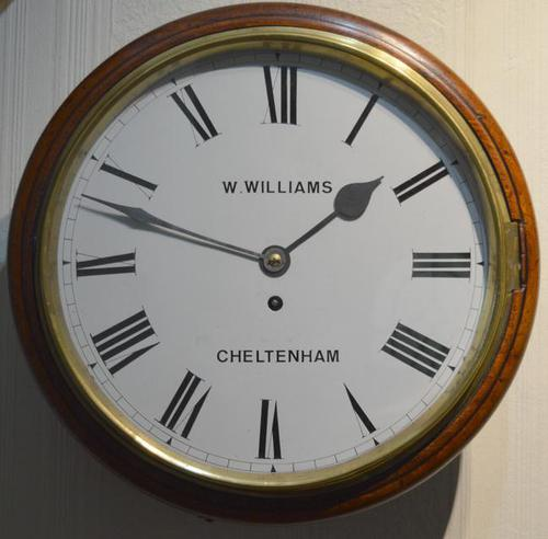 Willims of Cheltenham Fusee Dial Wall Clock (1 of 4)