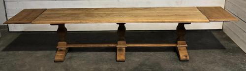Long French Farmhouse Table with Extensions (1 of 24)