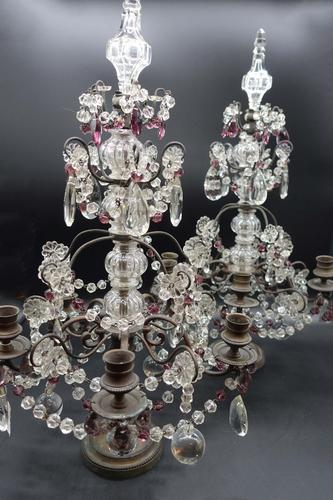 Complex Pair of Late 19th Century of French Table Candelabras (1 of 5)