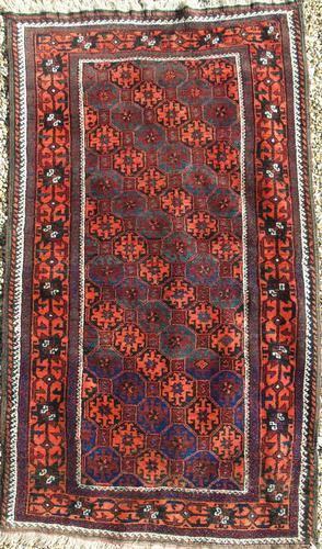 Good Antique Baluch Carpet (1 of 8)
