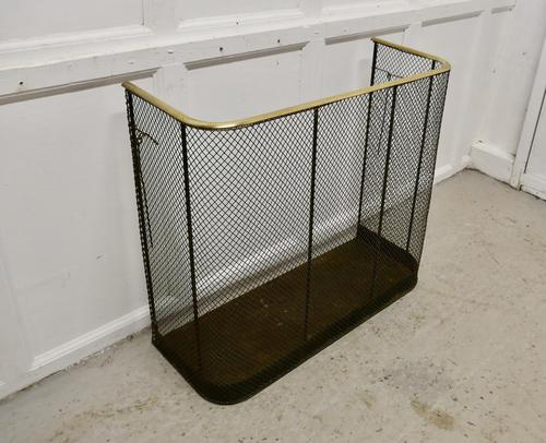 Very Large High Victorian Nursery Guard Fire Fender (1 of 5)