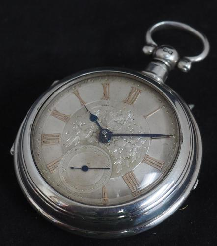 Antique Silver Pair Case Pocket Watch Fusee Lever Escapement Key Wind Silver Huntly & Losstemouth – A SimpsonAntique Silver Pair Case Pocket Watch Fusee Lever Escapement Key Wind Silver Huntly & Losstemouth – A Simpson (1 of 11)