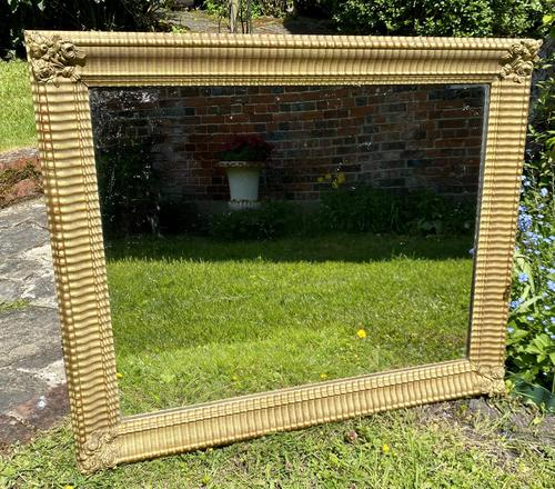 French Gilt Rippled Mirror (1 of 5)