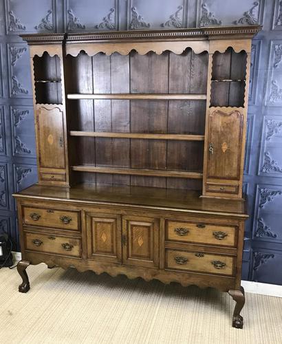 Georgian Style Oak Dresser c.1900 (1 of 15)