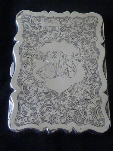 Solid Silver Aide Memoire Birmingham 1898 slight A/F (1 of 8)