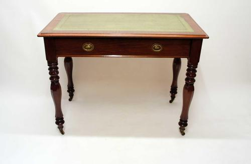 Good Quality William IV Mahogany Free Standing Writing Table (1 of 27)