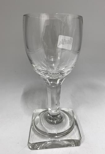 Antique English Wine Glass c.1890 (1 of 6)