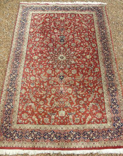 Antique Isfahan Carpet (1 of 9)