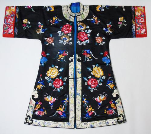 19th Century Chinese Silk Embroidered Robe (1 of 11)