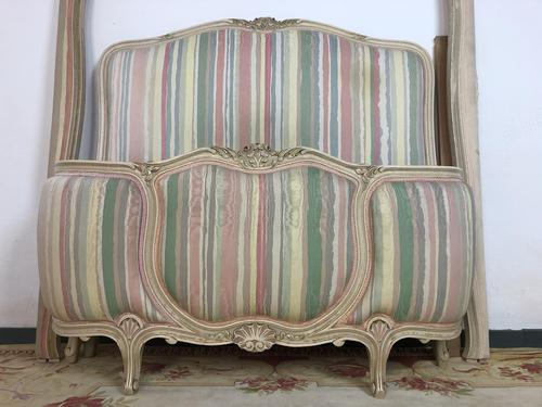 French Pair of Demi Lune Corbeille Single Bed Frames (1 of 11)