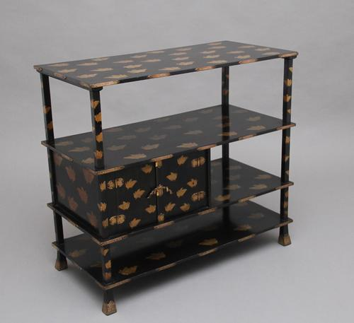 19th Century Japanese Lacquered Cabinet (1 of 12)