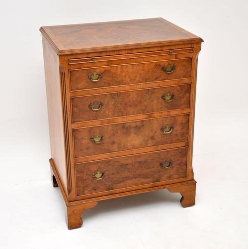 Georgian Style Burr Walnut Chest of Drawers c.1930 (1 of 9)