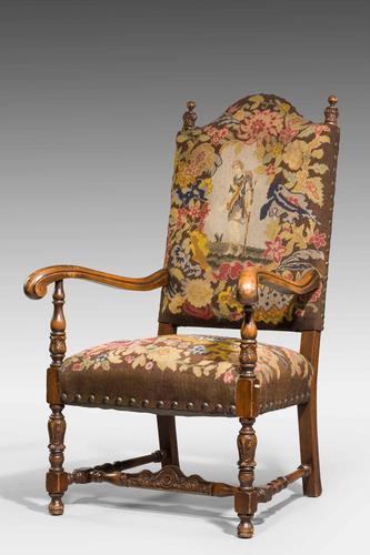 Good 19th Century Walnut Framed Chair (1 of 6)