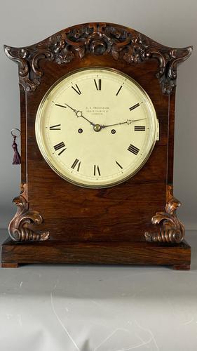 George Frodsham Quarter Repeating Table Clock (1 of 9)