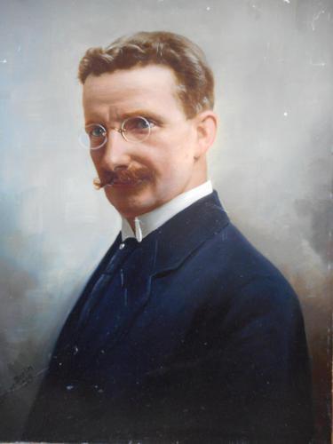 Arthur Fischer Oil Portrait of a Gentleman (1 of 6)