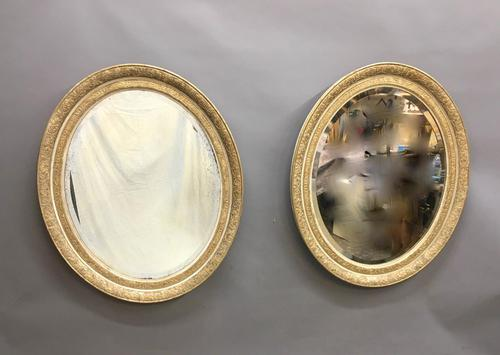 Pair of 19th Century French Gilt Mirrors (1 of 6)