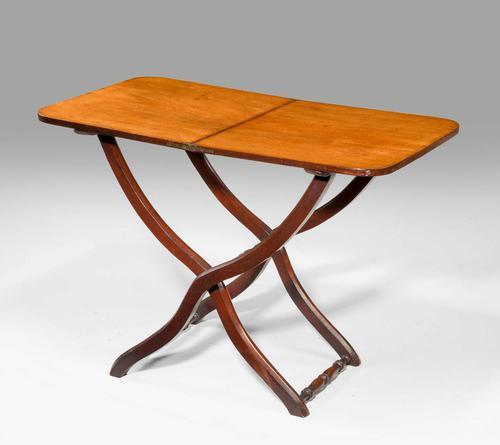 George III Mahogany Coaching Table (1 of 3)