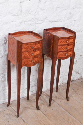 Very Pretty Pair of French Little Bedsides (1 of 8)